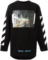 Off-White printed sweatshirt - men - Cotton - XS