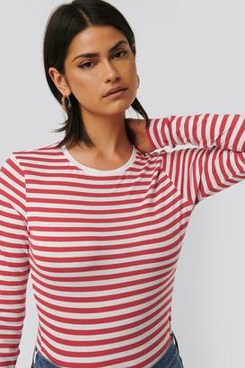 NA-KD Long Sleeve Striped Tee