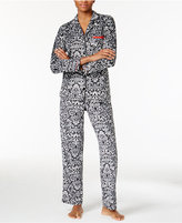 Ellen Tracy Printed Pajama Set