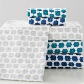 Jewel Tones Flannel Sheet Set, Full, Peacock