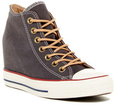 Converse Chuck Taylor(R) All Star(R) Lux Mid Wedge Sneaker (Women)