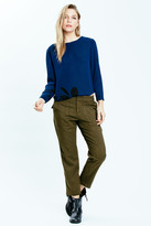 Karen Zambos Long Sleeve Kate Top