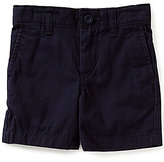 Class Club Little Boys 2T-7 Flat Front Twill Shorts