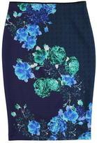 pinko PINKO Bardana Floral Stretch Pencil Skirt