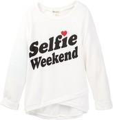 Ten Sixty Sherman Selfie Weekend Long Sleeve Tee (Big Girls)