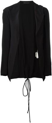 Yohji Yamamoto Pre-Owned cord lace-up blazer