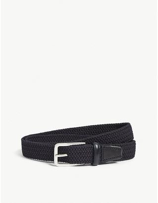 BOSS Woven elasticated belt