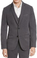 Kenneth Cole Reaction Mens Herringbone Two-Button Suit Jacket Gray XXL