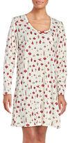 Carole Hochman Printed Cotton Jersey Sleepshirt