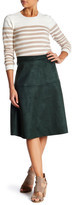 Lucy Paris Farah Faux Suede Skirt