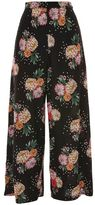 Topshop Floral print culotte trousers