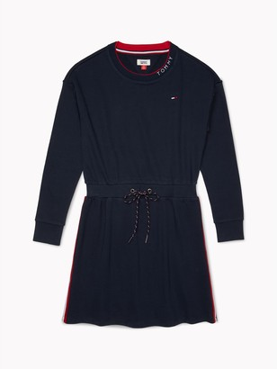 Tommy Hilfiger Ribbed Tie-Waist Dress