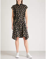 Zadig & Voltaire Requiem heart-print cotton shirt dress