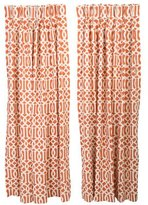 Kelly Wearstler Schumacher Imperial Trellis Drapes