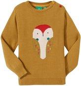 Little Green Radicals Barn Owl Jumper (Toddler/Kid) - Green-3-4 Years