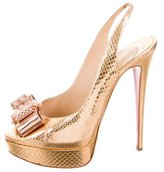 Christian Louboutin Metal Nodo 150 Ayers Pumps