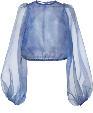 Beaufille Nebula Semi Sheer Tulle Blouse