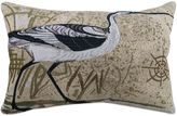 B. Smith The Vintage House by Park Beach Bird Tapestry Oblong Throw Pillow