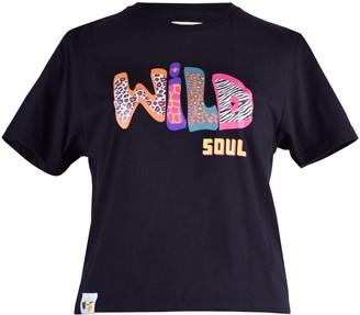 Blonde Gone Rogue Wild Soul Vegan T-Shirt In Black