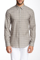 John Varvatos Collection Printed Long Sleeve Classic Fit Shirt
