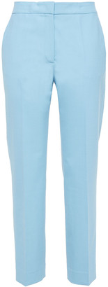 Victoria Victoria Beckham Twill Straight-leg Pants