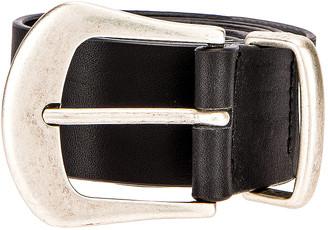Magda Butrym Stone Belt in Black & Silver | FWRD