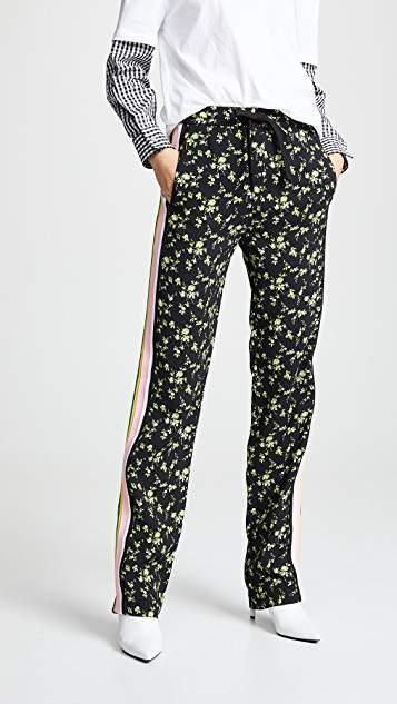 No.21 No. 21 Floral Track Pants