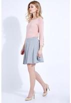 Select Fashion Fashion Seam Detail Hw Skater Skirt Midi Skirts - size 6