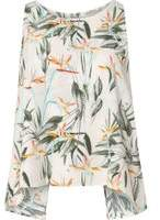 Dorothy Perkins Womens **Only Pink Bird Slit Back Printed Top