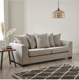 Caspian Fabric 3 Seater Scatter Back Sofa