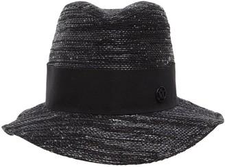 Maison Michel Bobbie Cotton, Bamboo & Lurex Hat