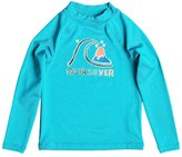 Quiksilver Kids' Bubble Long Sleeve Rash Guard 8144260