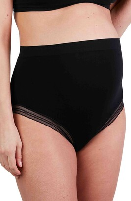 Cache Coeur Milk Seamless High Waist Maternity Briefs