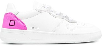 D.A.T.E Leather Low-Top Sneakers