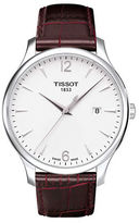 Tissot Mens Traditional Silver Quartz Classic Watch