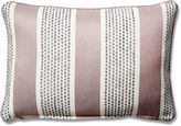 One Kings Lane Collection Blair 12x18 Striped Lumbar Pillow, Gray