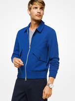Michael Kors Wool And Cotton Bomber Jacket
