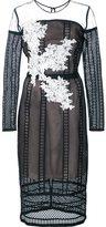 Nha Khanh sheer lace dress