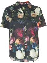 ADAM by Adam Lippes Floral Trapeze Button Down Shirt