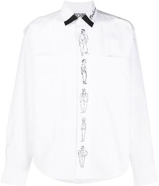 Moschino Character Print Placket Shirt