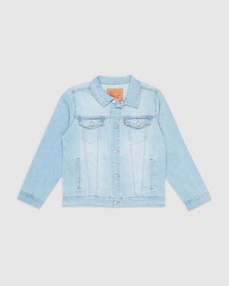 Levi's Boy's Blue Denim jacket - Trucker Jacket - Teens - Size S at The Iconic