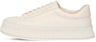 Jil Sander Low-Top Leather Sneakers