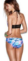 PINK Lace-Up Bikini Bottom