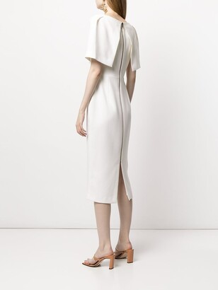 Roland Mouret Fenton wool crepe dress