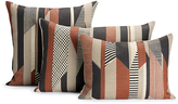 Design Within Reach Textured Stripe Pillow, Brown