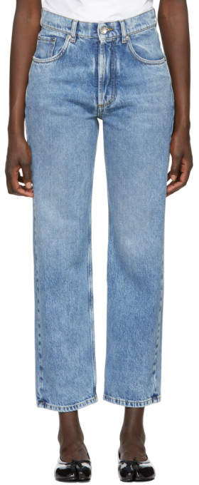 Maison Margiela Blue Denim Jeans
