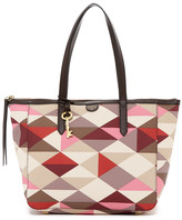 Fossil Sydney Printed Shopper