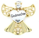 Wings & Wishes Godmother Angel Pin