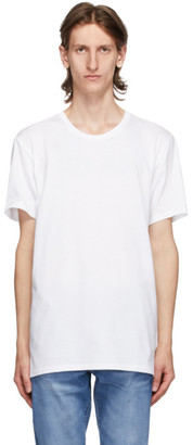 Calvin Klein Underwear Three-Pack White Cotton Classic-Fit T-Shirt