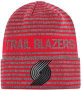 adidas Men's Portland Trail Blazers Striped Beanie
